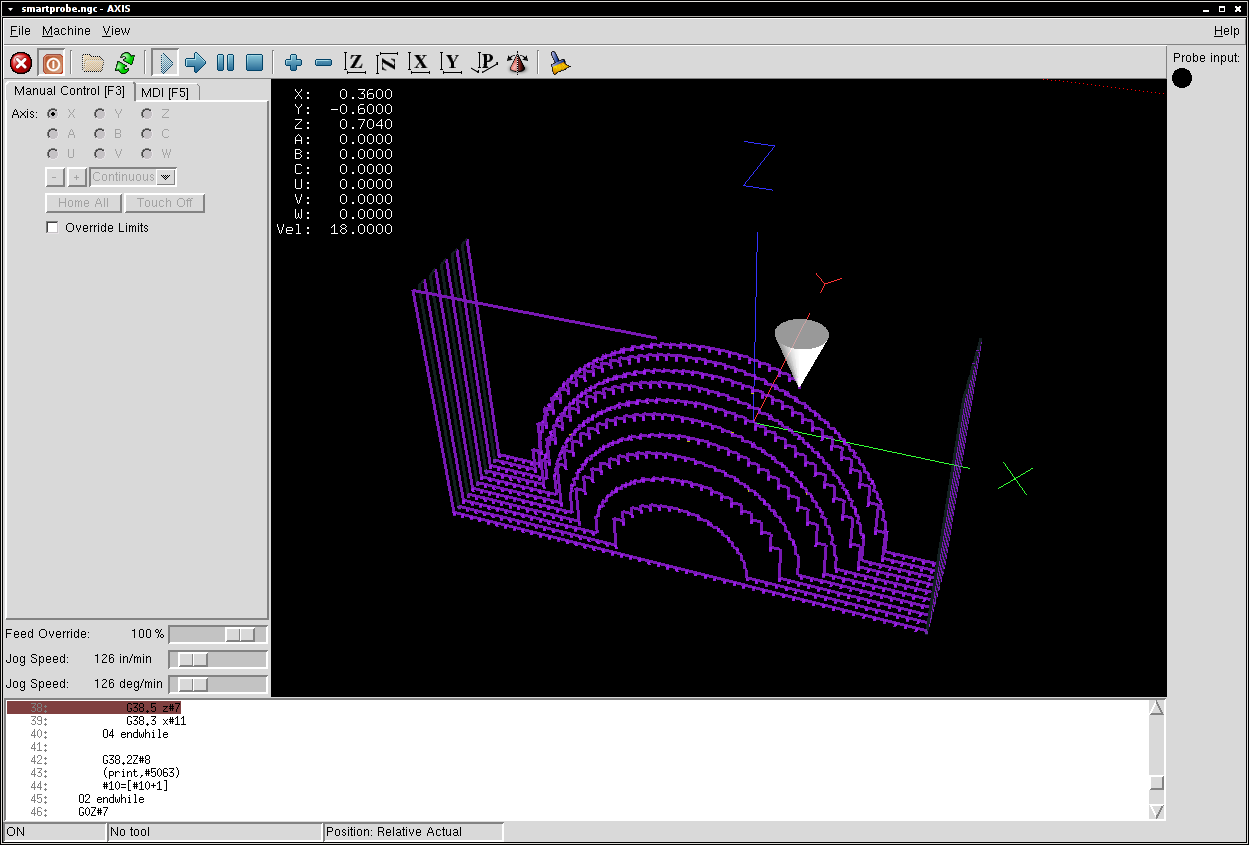 Conversion probe-results.txt in LinuxCNC